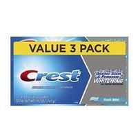 $3.94 (原价$5.69) Crest 双重美白牙膏 薄荷味 6.4oz 3支