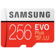 SAMSUNG 三星 EVO Plus MicroSD存储卡 256GB 249元包邮
