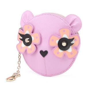 芙拉 FURLA CHARME 女士系列粉色牛皮时尚零钱包 922557 P PU15 B41 GLICINE 351元