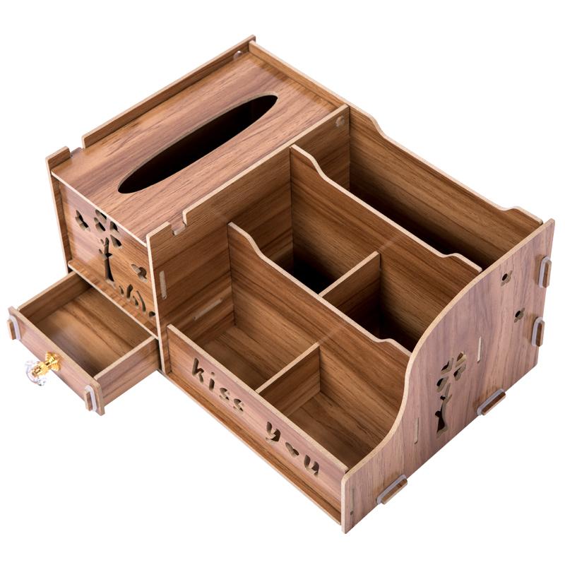 奇异果 创意纸巾盒桌面收纳抽纸盒 9.9元