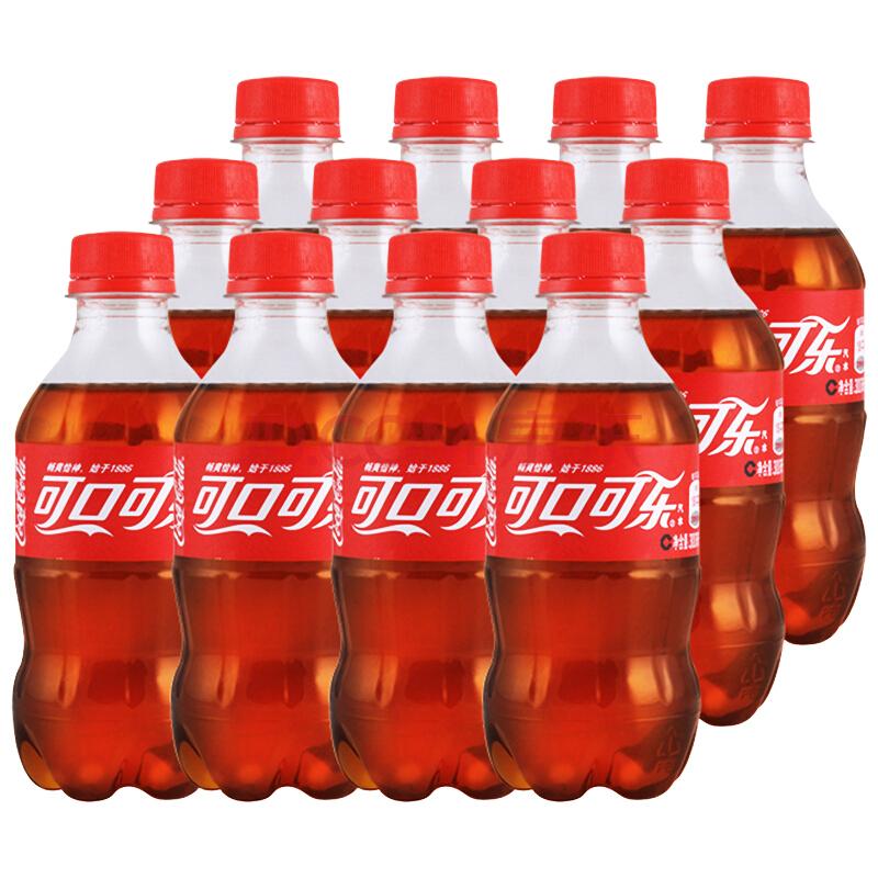 ¥15.9 限地区 可口可乐 汽水 300ml毫升*12瓶