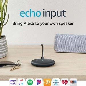 折合143.93元 Echo Input 让你的音箱变得智能起来