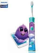 Philips 飞利浦 HX6322/04 儿童声波震动牙刷 蓝牙版 189元包邮(双重优惠)