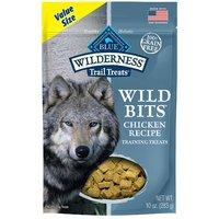$3.37(原价$11.97)白菜价:Blue Buffalo Wilderness 鸡肉味无谷狗零食 10oz