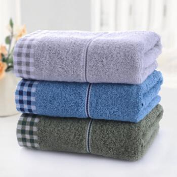 京东PLUS会员、运费券收割机:LOFTEX 亚光 纯棉素色毛巾 72*34cm*100g/3条装 14.25元(需用券) ¥14