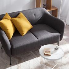考拉海购黑卡会员: 对伴布艺沙发 1050.24元包邮