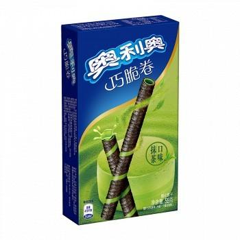 京东商城 凑单品:Oreo 奥利奥 巧脆卷 抹茶口味 55克 *3件 8.82元(3件7折)