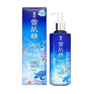 雪肌精(SEKKISEI) 蓝色宣言环保限量版 化妆水 500ml *2件 600.6元(合300.3元/件)