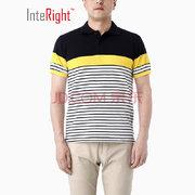 InteRight 6005318 男士條紋POLO衫 54元'
