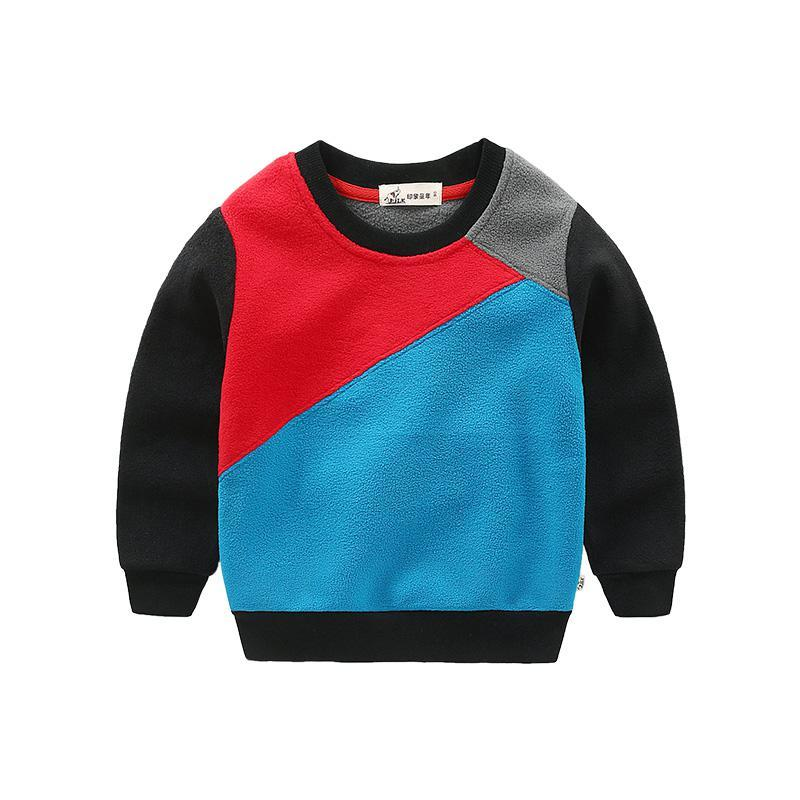 网易考拉黑卡会员: I.K 印象童年 男童加绒卫衣 *2件 45.73元(合22.87元/件)