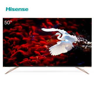 海信(Hisense) H50E7A 50英寸 4K 液晶电视 2799元
