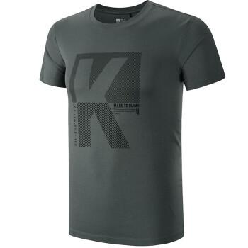 KAILAS 凯乐石 KG710757 男子户外短袖t恤 低至76.8元(2件8折) ¥77