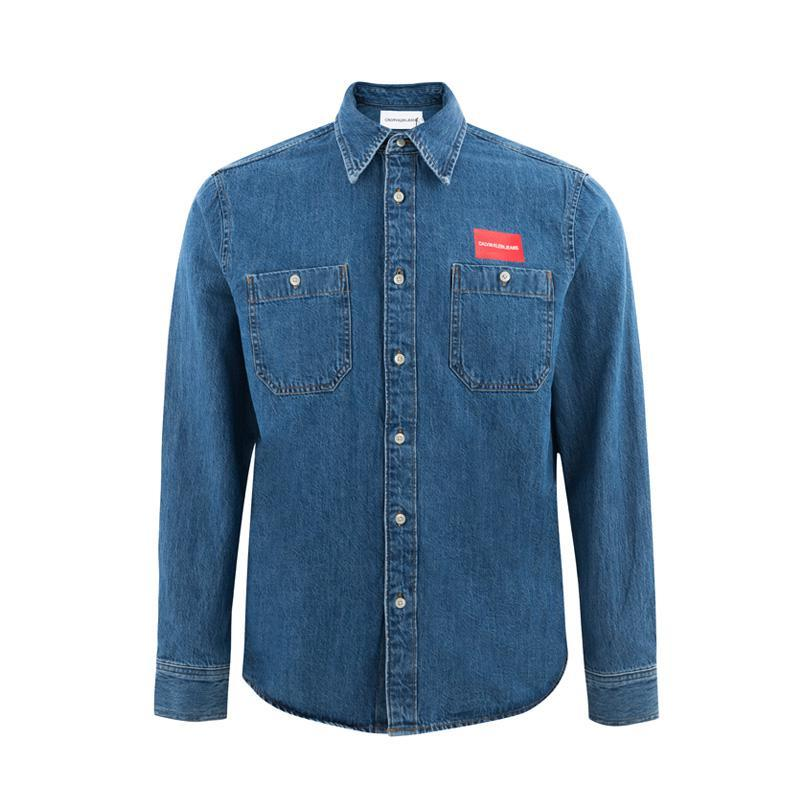 ¥148.64 Calvin Klein 卡文克莱 男士牛仔外套41I5036 蓝色