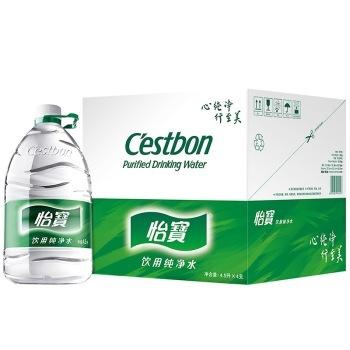 怡宝Cestbon 纯净水 4.5L*4 箱装 ¥26