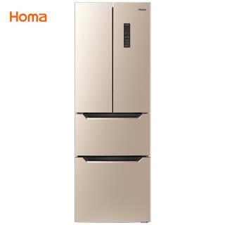奥马(Homa) BCD-252WF 252升 多门冰箱 1899元