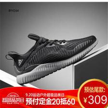 阿迪达斯(adidas) 阿尔法小椰子 bounce 运动跑步鞋 BY4264 329元