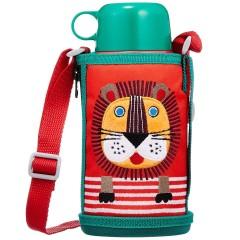【中亚Prime会员】Tiger 虎牌不锈钢保温保冷儿童直饮水杯 狮子款 600ml