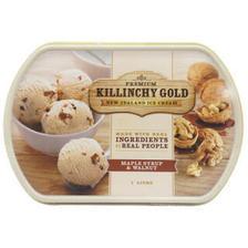 京东PLUS会员:Killinchy Gold 柯林高德 核桃口味 冰淇淋 1L *2件 114元包邮(双重