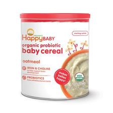 再降价:HAPPYBABY 禧贝 婴儿燕麦米粉 1段 198g *3件 66元包邮包税(合22元/件)
