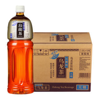 三得利 Suntory (无糖)乌龙茶1250ml*12瓶 /箱 *2件 133.2元(合66.6元/件)