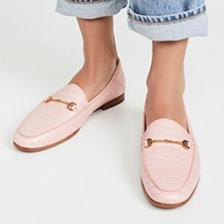 尺码全!Sam Edelman Loraine 粉色鳄鱼纹乐福鞋 7折 直邮中国 USD$98(¥608)