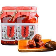 ¥13.8 邹大喜农家自制香辣豆腐乳300gx2罐装