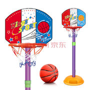 豆豆象 儿童篮球架 可升降投篮框 34.5元包邮'