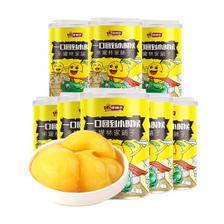 天猫超市 可口可乐供应商 林家铺子 0防腐黄桃罐头 425g*8罐 33.9元包邮