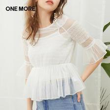 ONE MORE 女士雪纺衫 42.9元