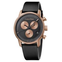 折合580.66元 CALVIN KLEIN 卡尔文·克莱 CITY系列 K2G17TC1 男士石英手表