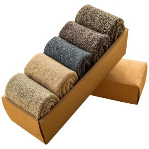 耐威丽 男士加厚款 保暖透气棉袜  15双 19.9元包邮 合1元/双