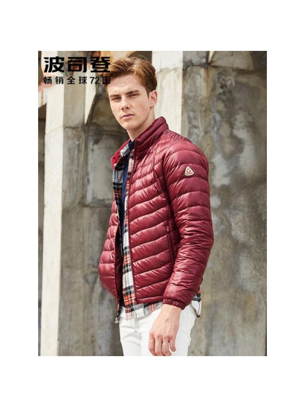 ¥136.85 波司登(BoSiDeng)男士羽绒服 波司登轻薄羽绒服