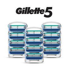 吉列(Gillette) 锋隐5 剃须刀头 12件装 146.04元