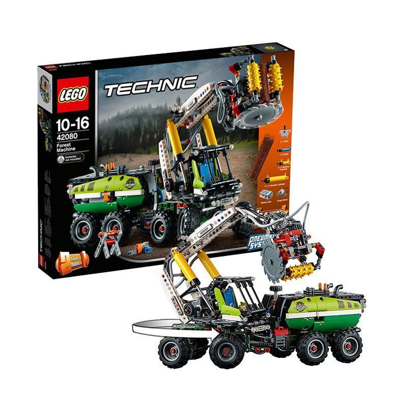 ¥671 网易考拉黑卡会员: LEGO 乐高 科技系列 42080 多功能林业机械
