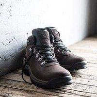 售价$59.99 (官网在售$110) Timberland 男士中帮防水徒步鞋热卖