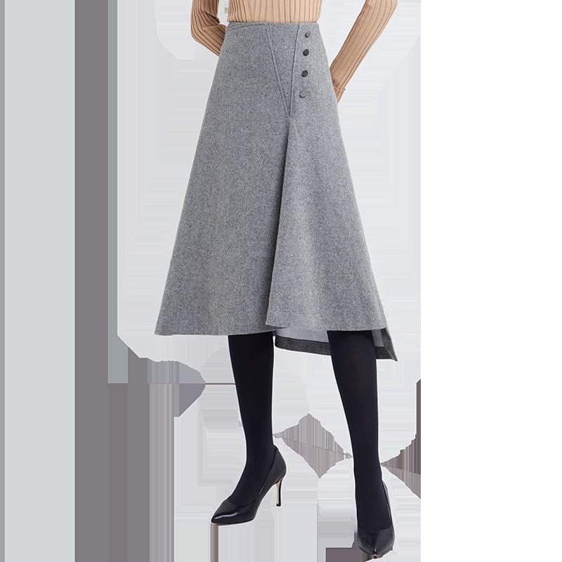 YANXUAN 网易严选 女式优雅不规则半裙 179元包邮