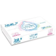 ¥5.89 洁柔 Lotion乳霜纸 3层*30抽+风倍清喷雾