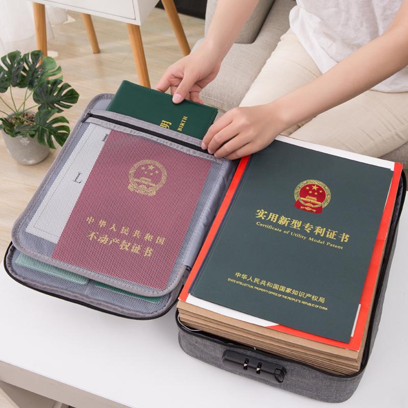 ¥19 证件收纳包家庭多层大容量