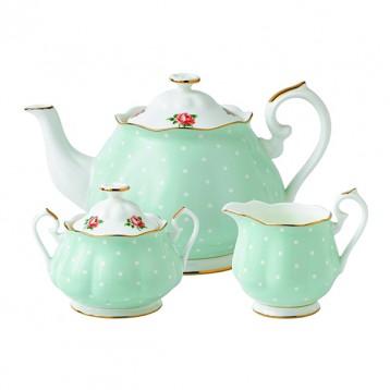 Royal Albert 皇家阿尔伯特Polka Rose 新皇家经典系列 茶具套组 海淘 4.2折 USD$90(¥558)