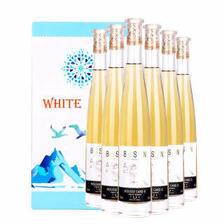 加拿大工艺甜白葡萄酒 冰酒 鸣斯小镇白葡萄酒 约会宴请馈赠礼品 整箱375ml*