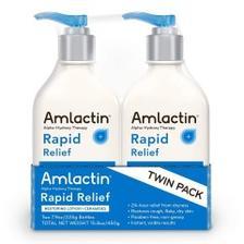 【中亚Prime会员】AmLactin 保湿修复身体乳 225g*2瓶