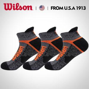美国 威尔胜Wilson 专业运动袜 3双 商超同款 19元包邮