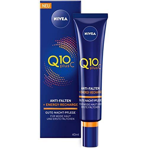 妮维雅(NIVEA) Q10 Plus C 防皱纹,焕活晚霜,1支装(1 x 40毫升) 63.5元