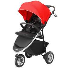 阿普丽佳(Aprica) Smooove 高景观三轮婴儿推车 红色 889元