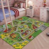 低至$14.19 近史低价 Learning Carpets 儿童超大游戏毯,多款可选