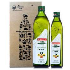 西班牙进口 品利 特级初榨橄榄油食用油 1L+500ml 家庭特惠装加一个凑单 79.9