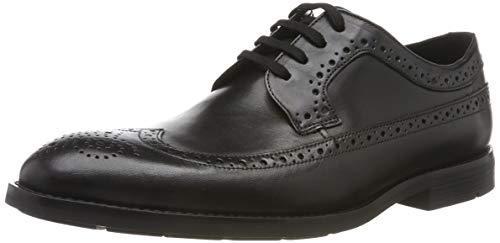 ¥265.54 Clarks 男士 Ronnie Limit 粗革皮鞋