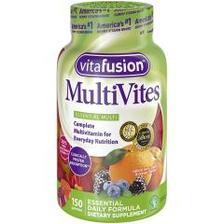 【中亚Prime会员】Vitafusion 成人多种维生素软糖 150粒