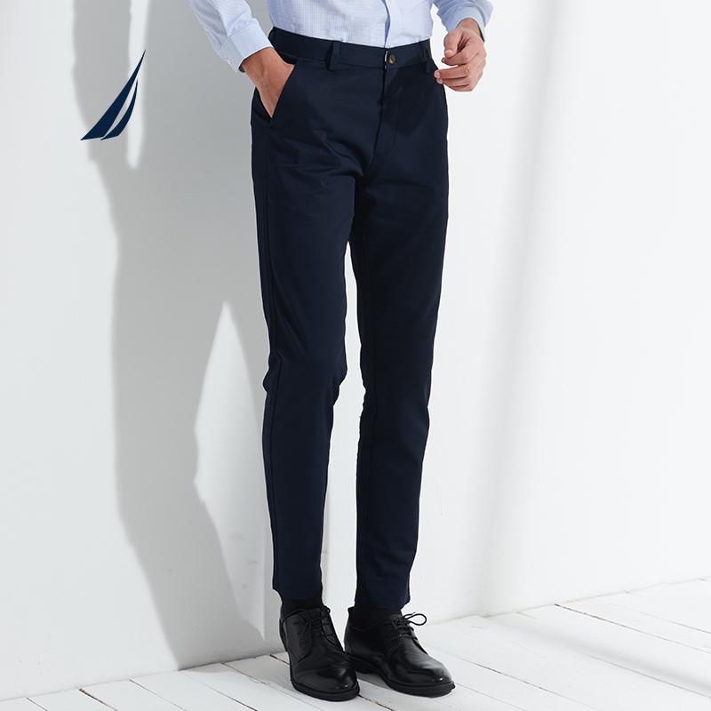 NAUTICA 诺帝卡 NXK91005 男士修身西裤 179元包邮