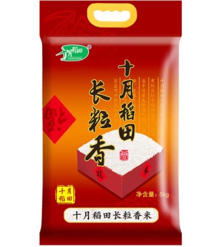 ¥25.32 十月稻田 长粒香大米 5Kg